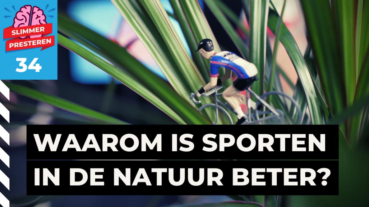 sporten in de natuur