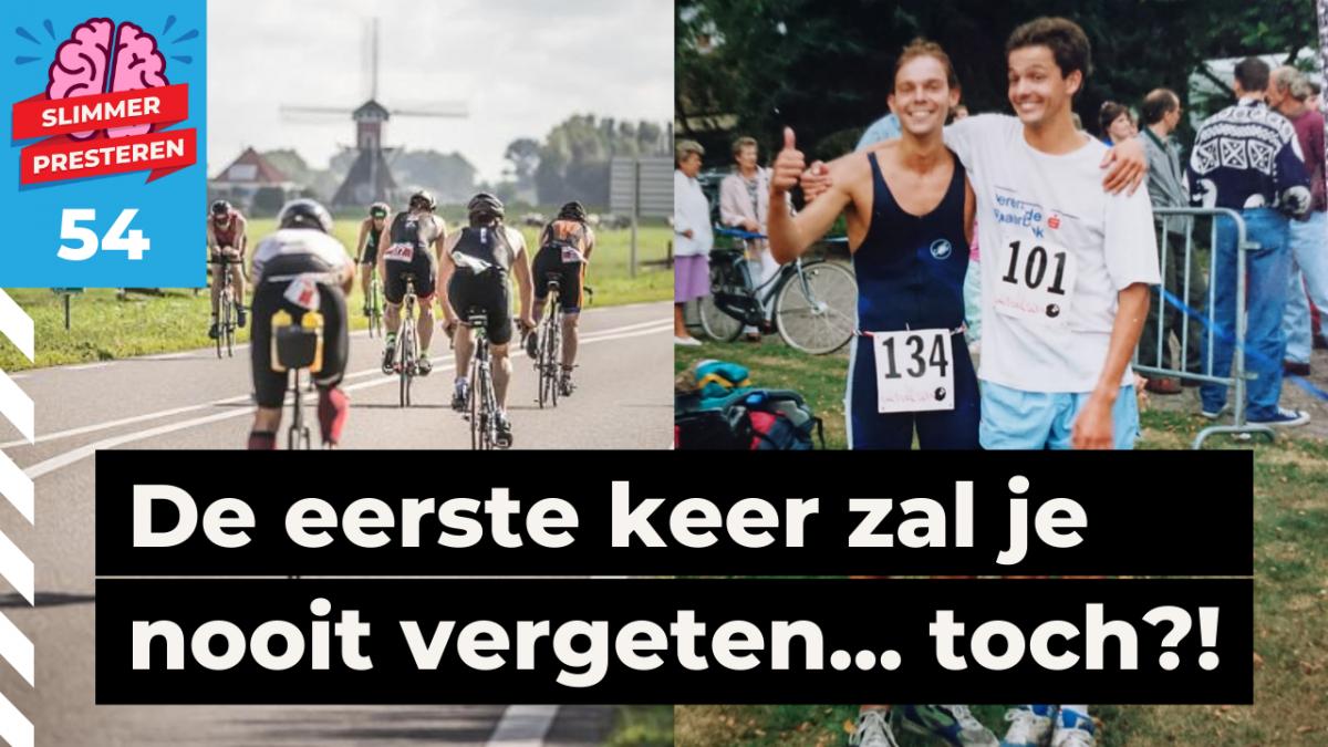 Eerste triatlon